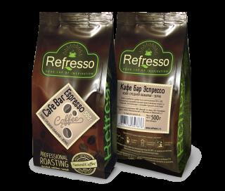 Refresso Cafe Bar Espresso зерно 500г.