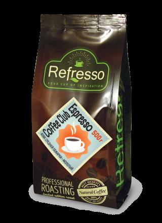 Refresso Coffee Club Espresso молотый 500г.