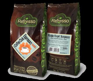 Refresso Coffee Club Espresso зерно 1000г.