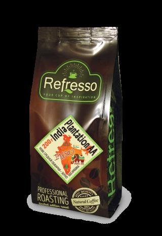 Refresso моносорта - Индия Плантейшн АА зерно 200 гр