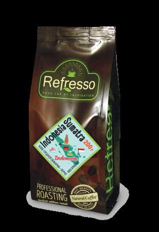 Refresso моносорта - Индонезия Суматра зерно 200 гр