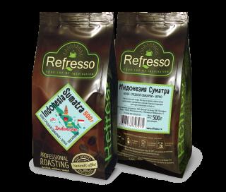 Refresso моносорта - Индонезия Суматра зерно 500 гр