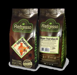 Refresso моносорта - Индия Плантейшн АА молотый 200 гр