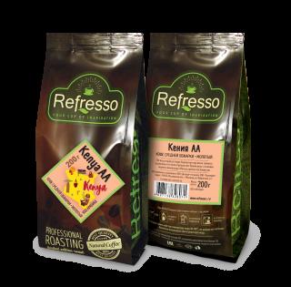 Refresso моносорта - Кения АА молотый 200 гр