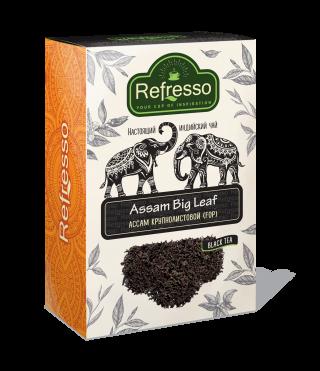 Чай Refresso  Ассам черный крупнолистовой 100г