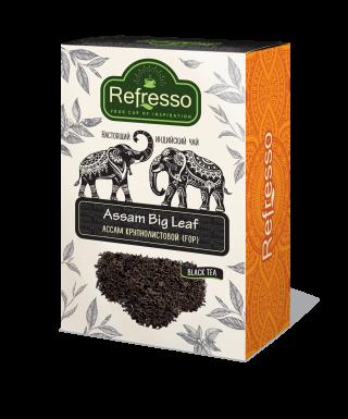 Чай Refresso  Ассам черный крупнолистовой 250г
