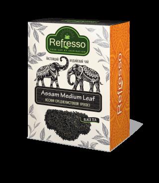 Чай Refresso  Ассам черный cреднелистовой 100г