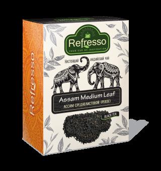 Чай Refresso  Ассам черный cреднелистовой 250г