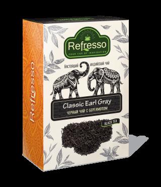 Чай Refresso  черный Эрл Грей 250г
