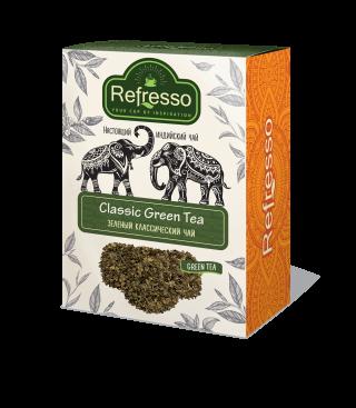 Чай Refresso  зеленый 100г