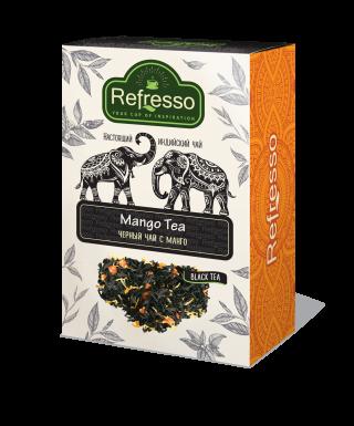 Чай Refresso  черный манго 100г