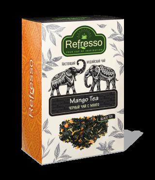 Чай Refresso  черный манго 250г