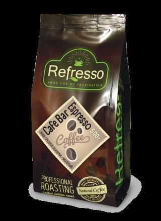 Refresso Cafe Bar Espresso молотый 500г.