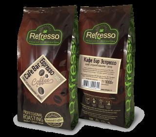 Refresso Cafe Bar Espresso зерно 1000г.
