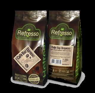 Refresso Cafe Bar Espresso молотый 200 гр под турку